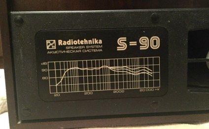 Акустическая система s-90