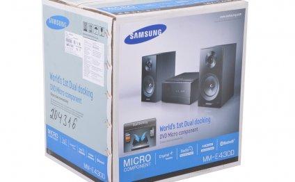 Музыкальный центр Samsung MM