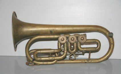 Труба Корнет - музыкальный
